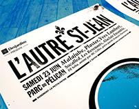 L'AUTRE ST-JEAN – Poster/Illustration