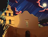 Diego San illustrations