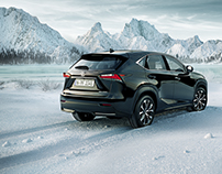 Lexus NX in the snow - FULL CGI