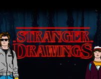 STRANGER DRAWINGS