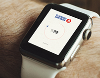 Turkish Airlines - iWatch Concept