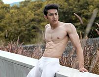 Mister Universal Ambassador Thailand 2017 in Sportswear
