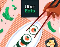UberEats Illustration System