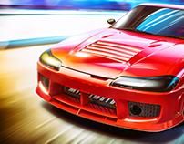 Nissan Silvia renders