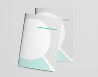 Brochures and bussines folder for company