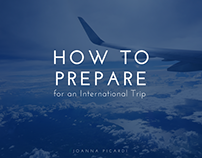 Joanna Picardi- How to Prepare for International Travel