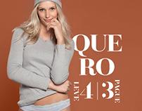 Underwear Campaign for Água Fresca Lingerie