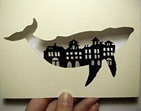 Papercut postcards