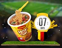MAGGI HOT CUP - Win Trip to Brazil Campaign Microsite
