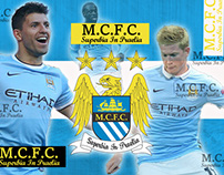 Manchester City FC Product Poster