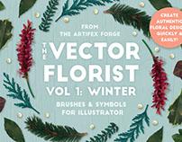 The Vector Florist Vol 1: Winter