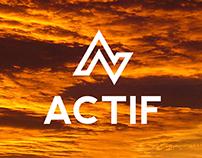 ACTIF logo design