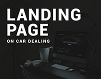 LANDING PAGE UI ON CAR DEAL
