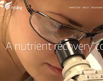 WiseRg - Biotech company web site