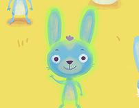 Rumi Rabbit — Character Illustration and Animation