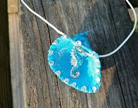 Seahorse Seashell Necklace