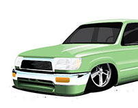 4 Runner Illustration