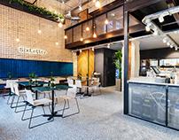 SIXLETTER - interior design / 2019