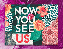 Now You See Us Branding & Layout Design
