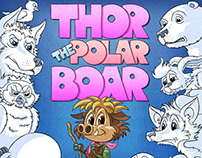 THOAR THE POLAR BOAR - A children's book