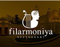 "Logo for ""Filarmoniya"" Restaurant (2013)"