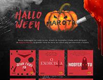 Halloween 2018 - Social Media - Agência Marota