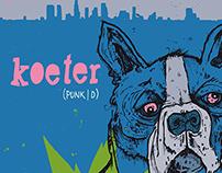"Gig-Poster ""Koeter"""