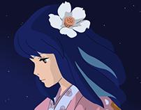 The Starry Ghibli Night