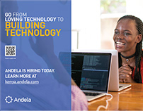 Andela is Hiring - Mall Posters