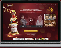 Vimto Let's Celebrate Togetherness Microsite & adword