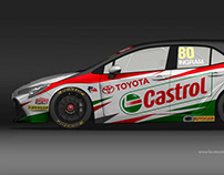 Toyota BTCC Concepts