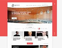 Pierre Boulez Hall Website