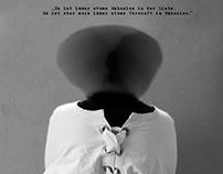 Poster presenting Friedrich Nietzsche