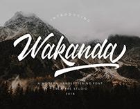 WAKANDA SCRIPT - FREE HANDLETTERING FONT