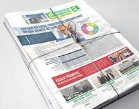 Diagramação | Jornal ACIAJA - Edição Setembro 2015