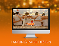Website Landing Page Design