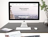 Paris Moments, logotype et webdesign