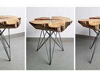 LEANING SIDE TABLES