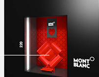 Mont Blanc - Shopping window display