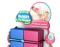 POP - Huggies 1, 2 y Arribe Pants