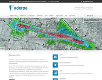 Sitio web institucional de ADERPE - Mendoza, Argentina