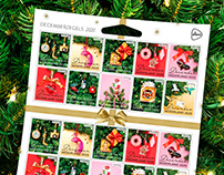 Vondels - PostNL Decemberzegels & Print items