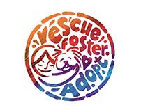 Rescue Foster Adopt Logo