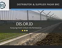 Distributor & Supplier Pagar BRC