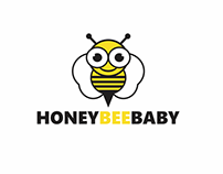 Honey Bee Baby Logo