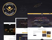 La Boom - Food & Restaurant Website