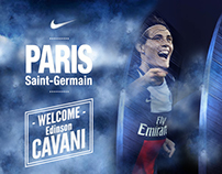 Welcome Edinson Cavani !