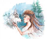 Wild love/illustration