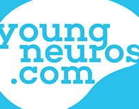 Logo and identity for YoungNeuros.com