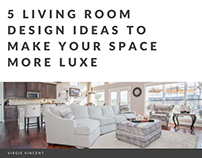 5 Living Room Design Ideas To Make Your Space More Luxe